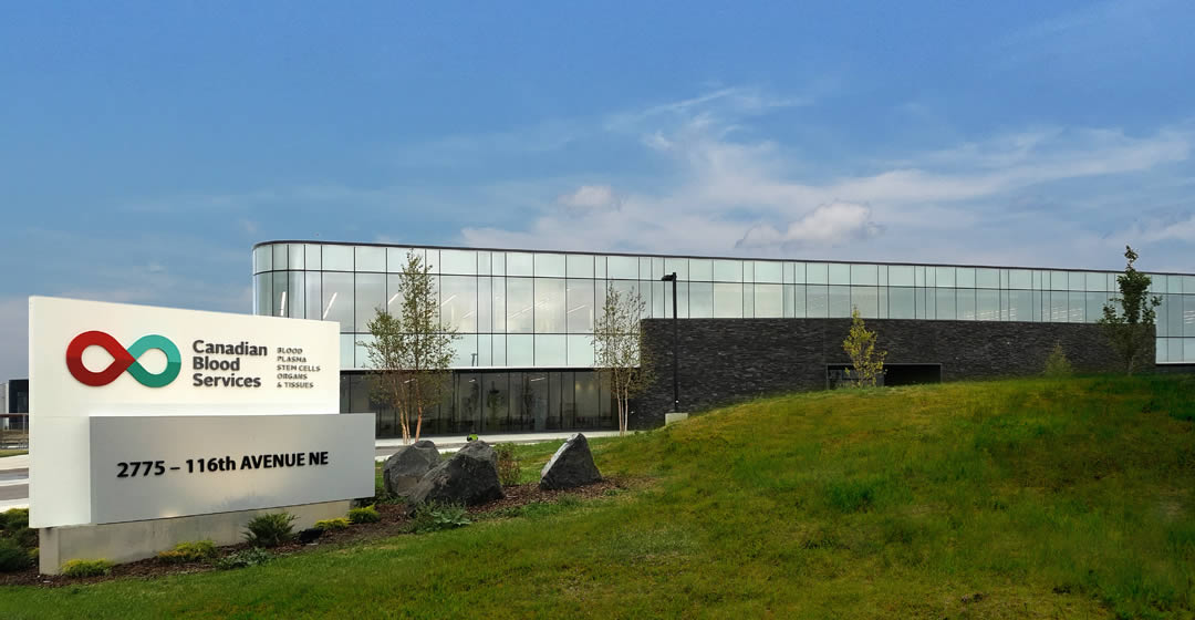 Image of the new Calgary facility