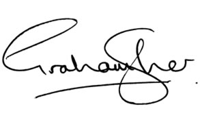 Dr. Graham D. Sher's signature
